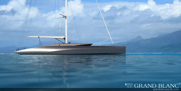 Grand Blanc Pacific 111ft. Yacht