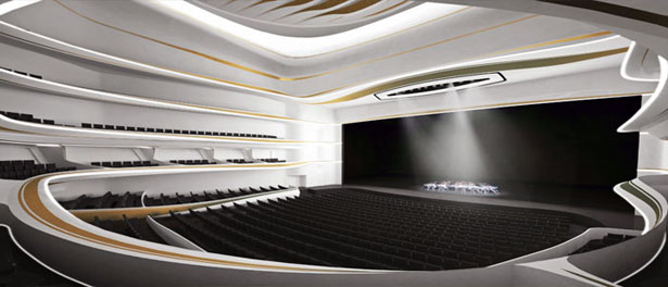 Grand Theatre Rabat by Zaha Hadid