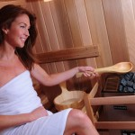Grandview Barrel Sauna Heats The Room Evenly and Efficiently