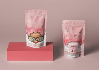 Granny's Cotton Candy Packaging Design Brings Traditional Snack to Modern Consumers