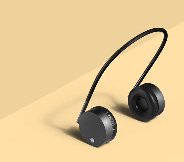 Gravity Headphones by Kyumin Ha