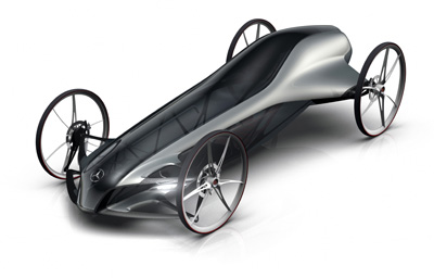 silbervogel gravity racing car