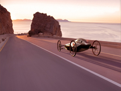 silbervogel gravity racing car eco friendly