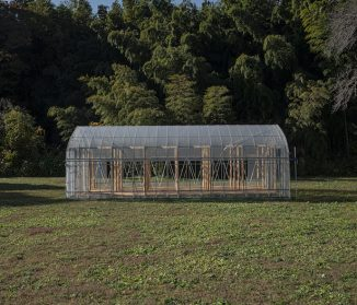 """Green Base"" Workspace for Farming by UENOA Architects"