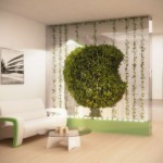 Green Partition Cleans The Air In Your Home