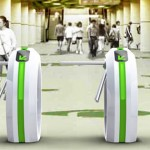 Green Pass Turnstile Generates Energy for Its Own Use