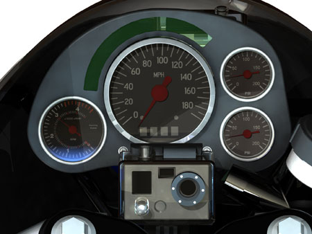 green speed motorcycle