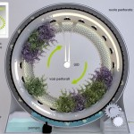 Green Wheel Revolutionary Rotary Hydroponic System by Libero Rutilo
