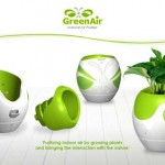 GreenAir : Ecological Air Purifier Concept