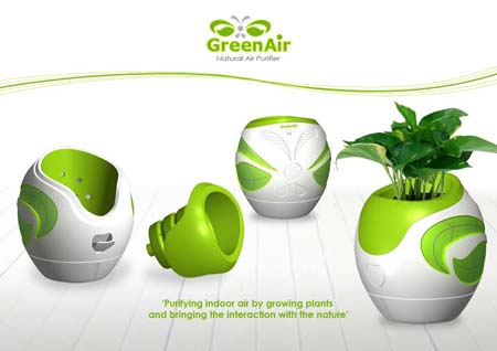 green air natural air purifier