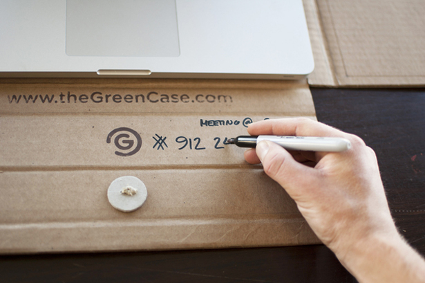 GreenCase Protective Laptop Case and Portable Workstation by Mike Bector