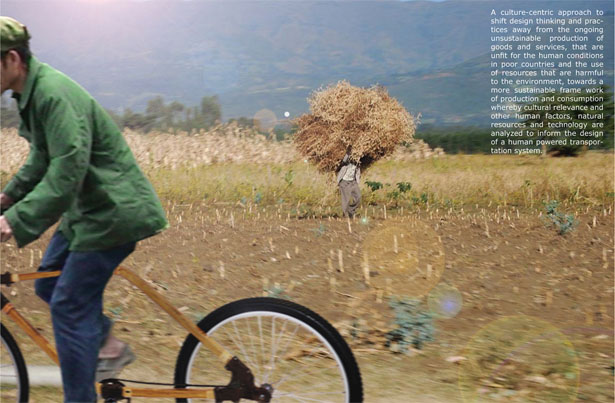 Greencycle Bamboo Bike by Paulus Maringka