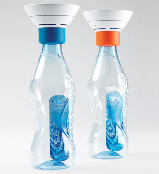 Greens Voice Speaker Extends The Life of Empty Plastic Bottles - Tuvie