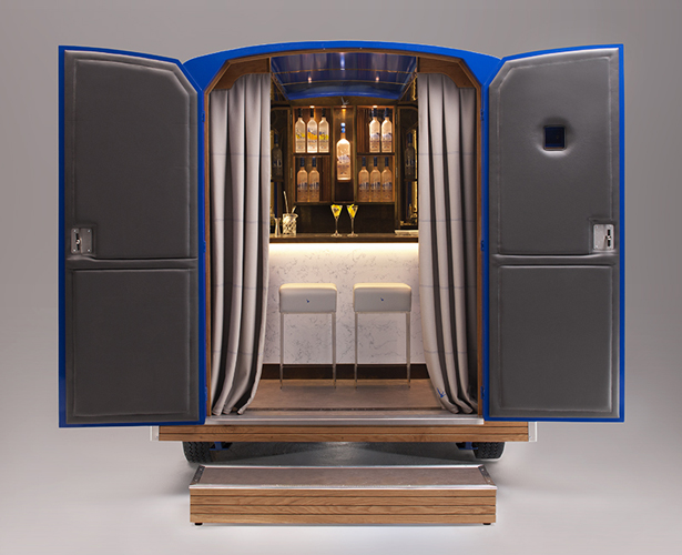 Grey Goose Camionnette World's Most Intimate Mini Bar