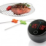 Grill Alert Bluetooth Connected Thermometer Alerts You When Your Grill Reaches Appropriate Temperature