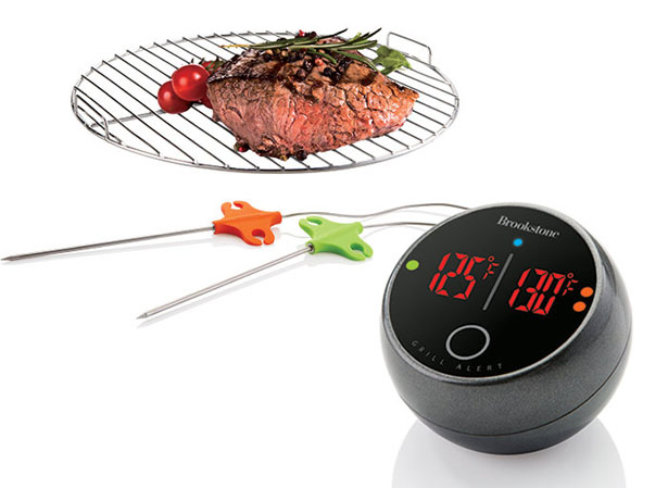 Grill Alert Bluetooth Connected Thermometer by Elliot Cohen
