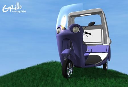 Enjoy Open-Air Riding with Grillo Camping Trike