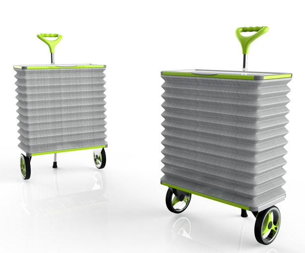 Grocar Concept Grocery Cart by Designnobis