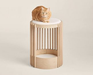 Modern Groove Cat Tower Blends Perfectly with Your Contemporary Decor