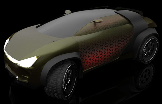 Groth SUV Concept Car by Al Hasbi