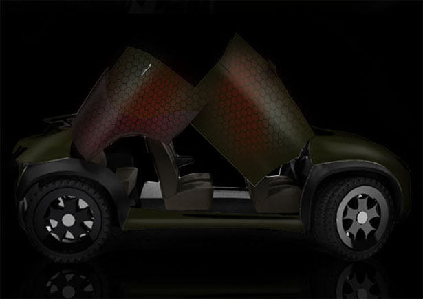 Groth Concept SUV for Extreme Road Conditions by Al Hasbi