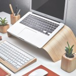 Grovemade's Wood Laptop Stand Raises Your Laptop in Style