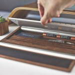 Grovemade's Desktop Collection Is Made from Vegetable Tanned Leather and Domestic Hardwoods