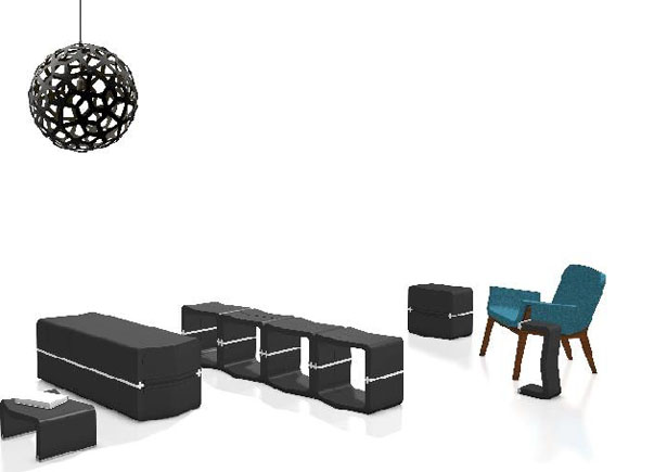GROW! World's Most Flexible Furniture System by Movisi