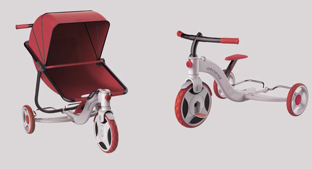Growing Baby Stroller by Yue Han and Zhao Chang Sheng