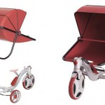 Growing Baby Stroller Transforms Into Children Tricycle