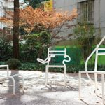 Growing Chairs Art Installation Breaks Ground in Shanghai by Hongtao Zhou
