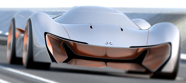 GT Concept Car for AUFEER Design by Arpad Takacs