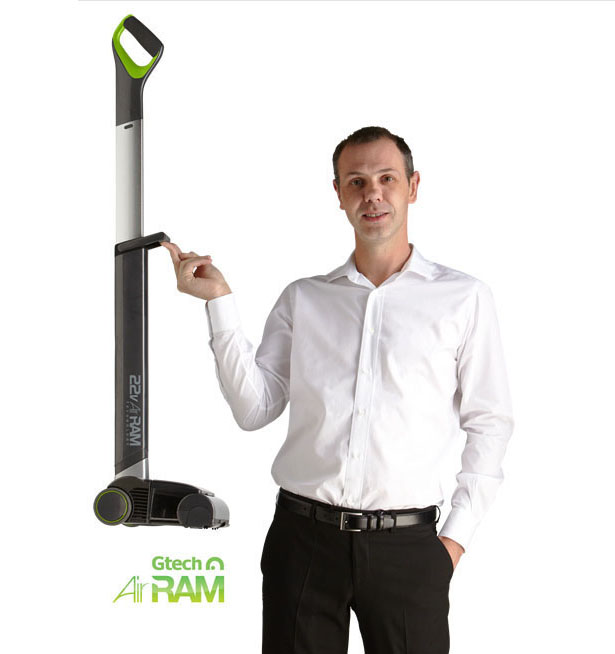 GTech AirRam Cordless Vacuum Cleaner Is So Light, It Can Be Lifted with A Single Finger