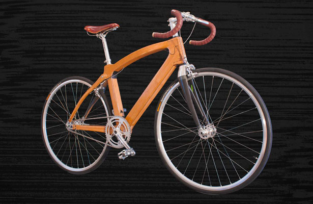 Urban One Bamboo Bike by Guapa
