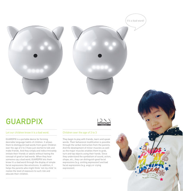 Guardpix Portable Device Language Habits for Children by Seo Donguk