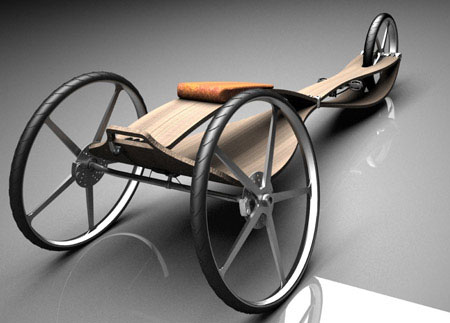 guepardo human powered vehicle