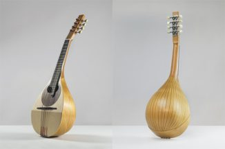 Giulio Iacchetti Redesigns Mandolin to Encourage Young People to Learn Playing This Classic Musical Instrument