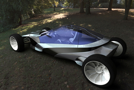 gym concept car powered by sweat