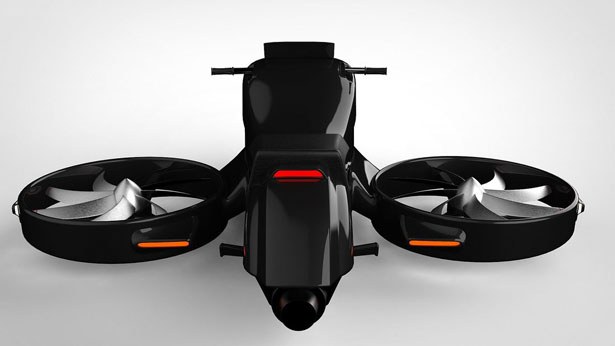 GyroDrone Concept VTOL Aircraft by Thrustcycle