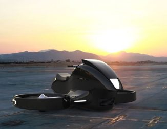 Futuristic GyroDrone Concept VTOL Aircraft Uses Two Gyroscopes to Maintain Stability and Control