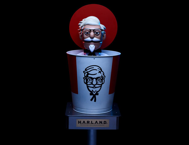 H.A.R.L.A.N.D Creepy Robot Takes Your Drive-Thru Order at KFC