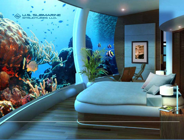 H2OME Undersea Residence by US Submarine Structures LLC
