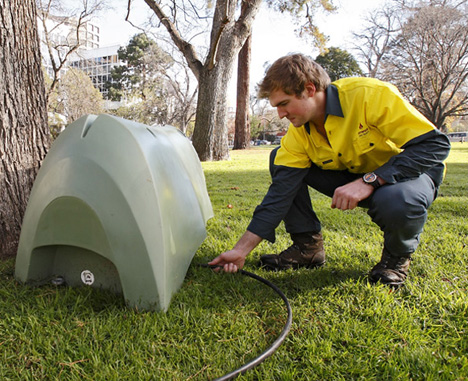 H2Pod Portable Water Tank Increases The Public's Amenity Of The Park