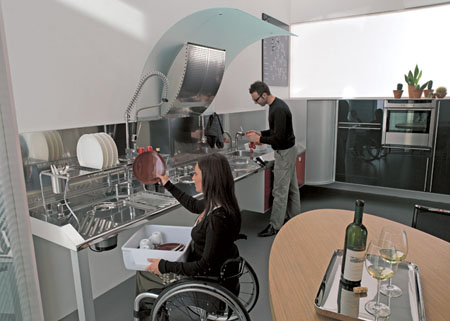 hability acessible kitchen wheelchair