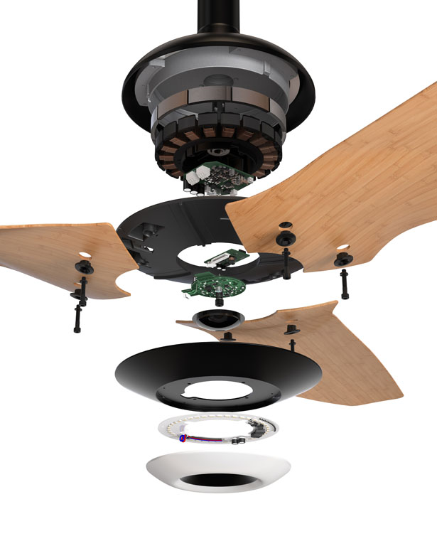 Haiku Advanced Ceiling Fan by Big Ass Fans
