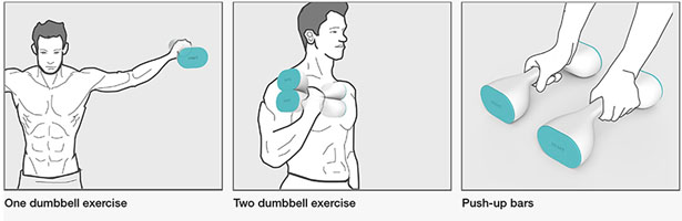 Dumbbell 1/2 by Hyeon-Cheol Lee