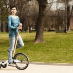 Minimalist Halfbike Offers Upright Riding Position for Better Visibility and Excellent Control