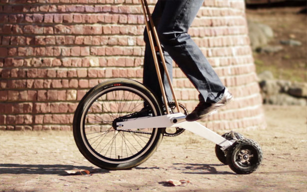 Halfbike by Martin Angelov