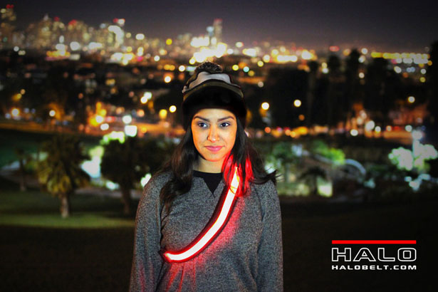 HALO BELT 2.0 - Bright LED Illuminated Safety Belt
