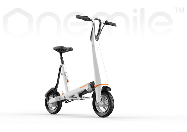 Halo City Electric Scooter by Onemile Technology